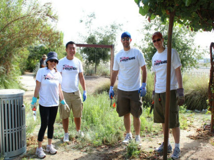 Disney Volunteers at Rio Vista Park