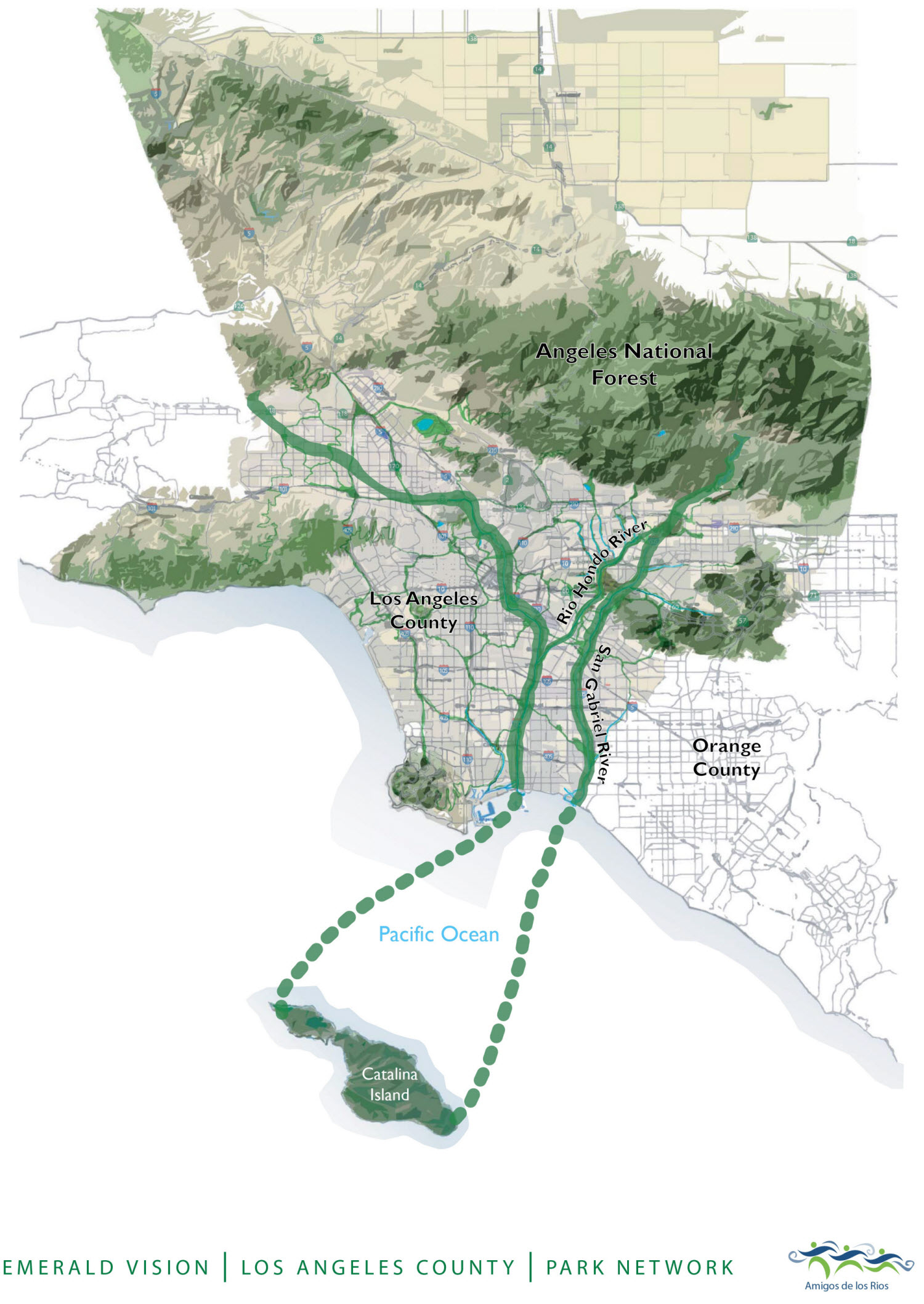 Emerald Necklace Forest To Ocean Expanded Vision Plan Emerald - Chicago map necklace