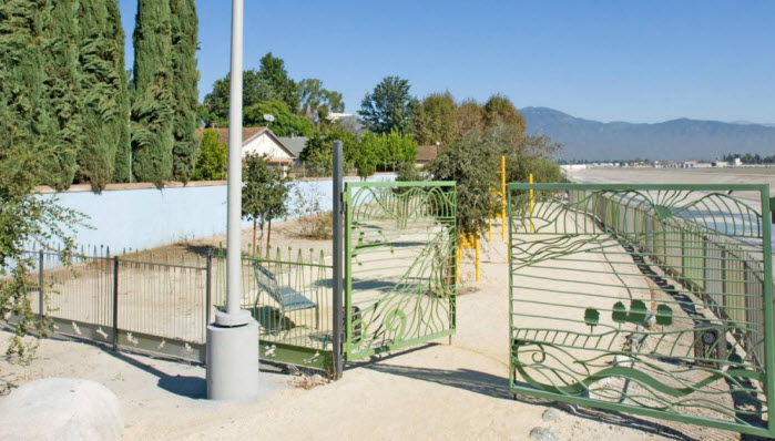 Rio Vista Park Decorative Gate