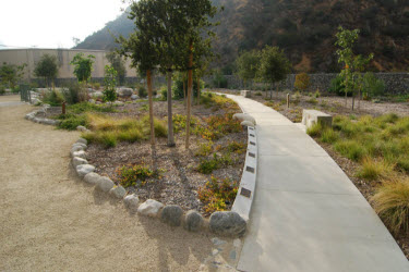 San Gabriel Canyon Gateway plantings