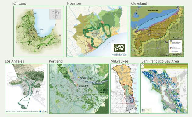 Metropolitan Greenspace Alliance Maps