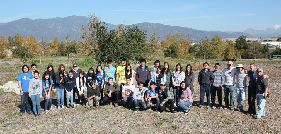Volunteers at Peck Water Conservation Park January 5, 2013