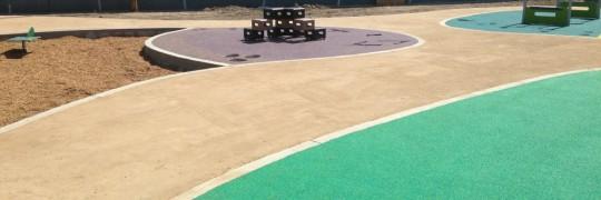 Pixley Bunny Park during reno