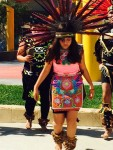 Aztec Dancer at City Terrace Park