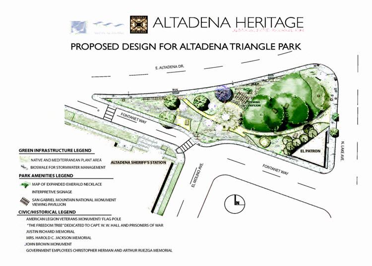 Amigos de los Rio-Altadena Triangle Park